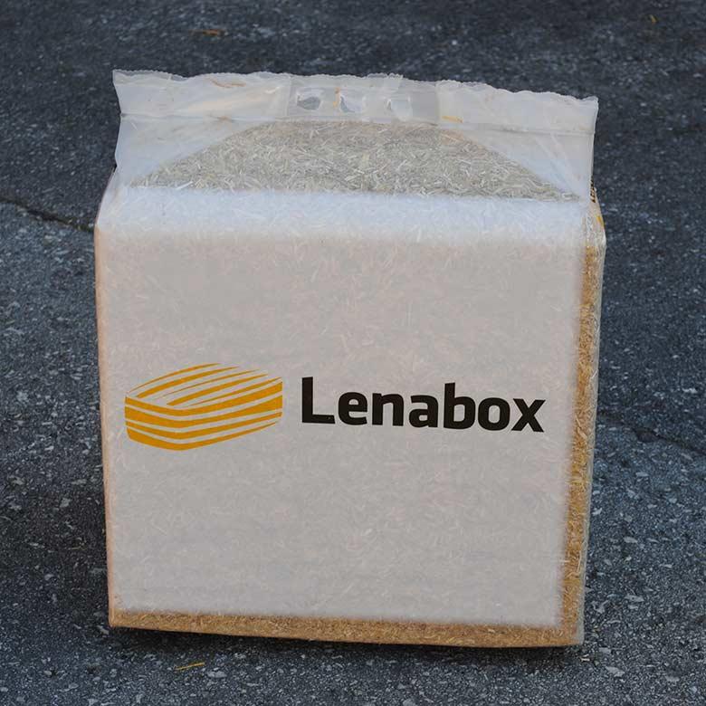 Slama Lenabox in Lenabox Garden